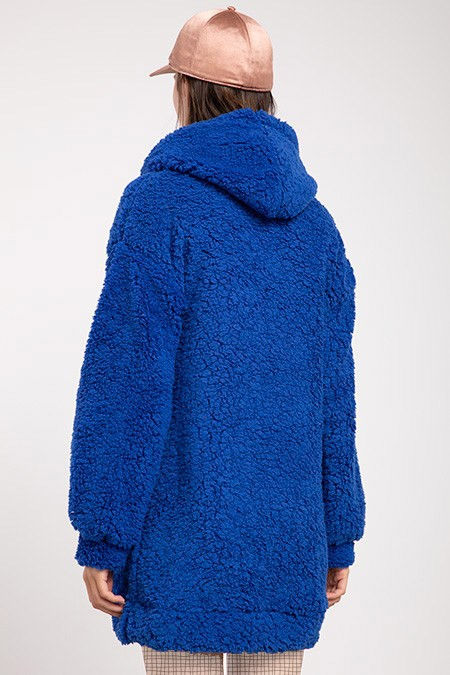 image number  1 products  Women's POWER PLUS blue sweater