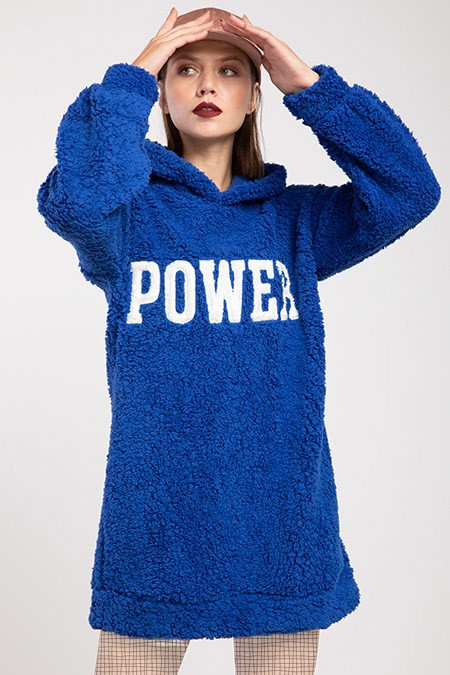 image number  3 products  Women's POWER PLUS blue sweater