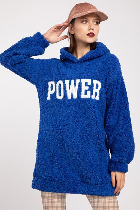 image number  2 products  Women's POWER PLUS blue sweater