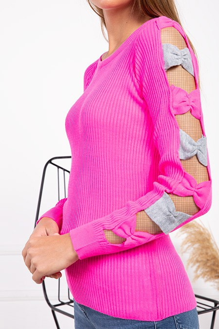 image number  2 products  Women's knitwear, pink, in 9 different colors