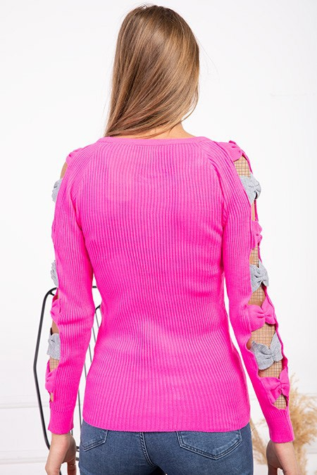 image number  1 products  Women's knitwear, pink, in 9 different colors