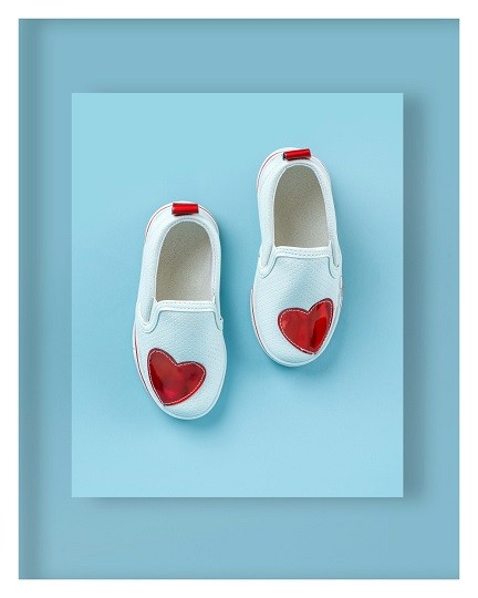 image number  2 products  Kidney model children's shoes