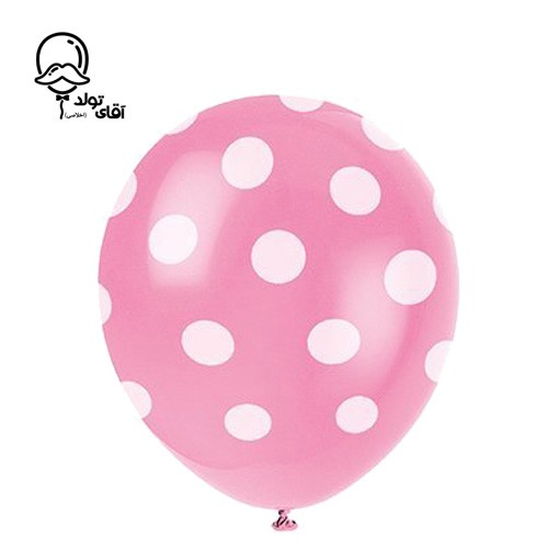 image number  8 products  Monochrome Spotted Balloon (Variety of about 10 colors)