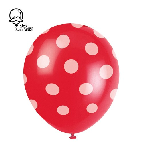 image number  7 products  Monochrome Spotted Balloon (Variety of about 10 colors)