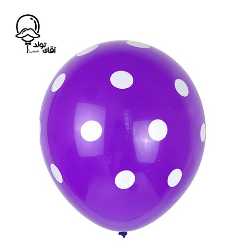 image number  5 products  Monochrome Spotted Balloon (Variety of about 10 colors)