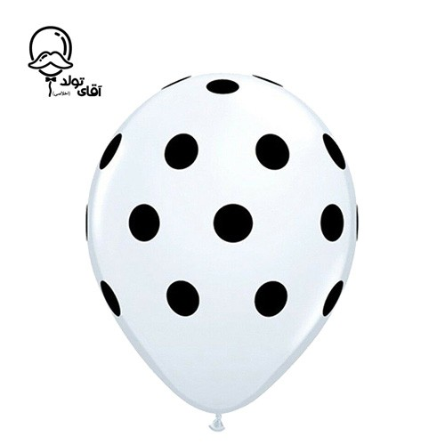 image number  4 products  Monochrome Spotted Balloon (Variety of about 10 colors)