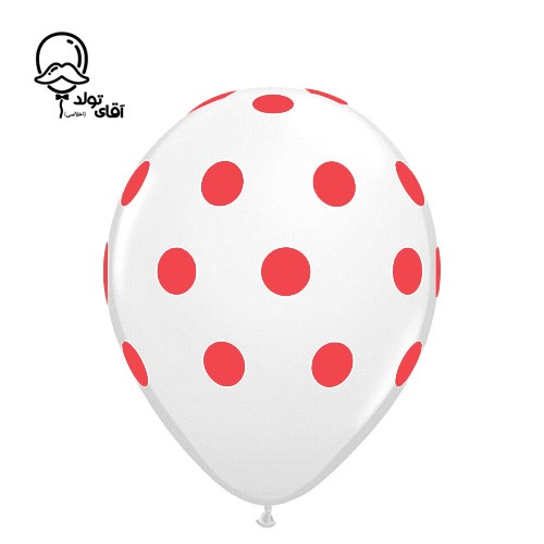 image number  3 products  Monochrome Spotted Balloon (Variety of about 10 colors)