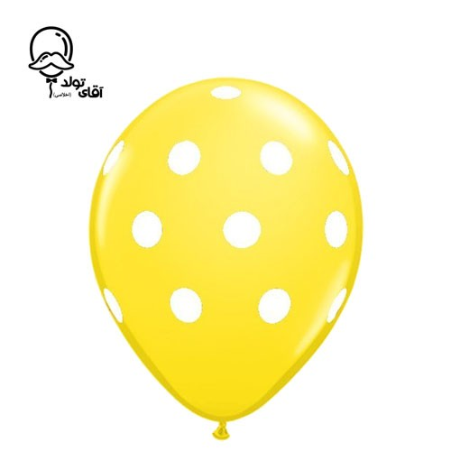 image number  1 products  Monochrome Spotted Balloon (Variety of about 10 colors)