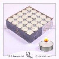 Iranian's  100 Numeric Warmer Candle (White)