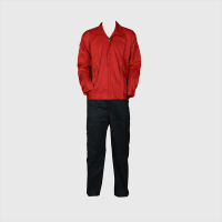 Iranian's  Workwear Worker pants jacket, red black
