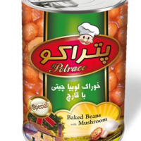 Iranian's Canned Chicken Beans with Mushrooms