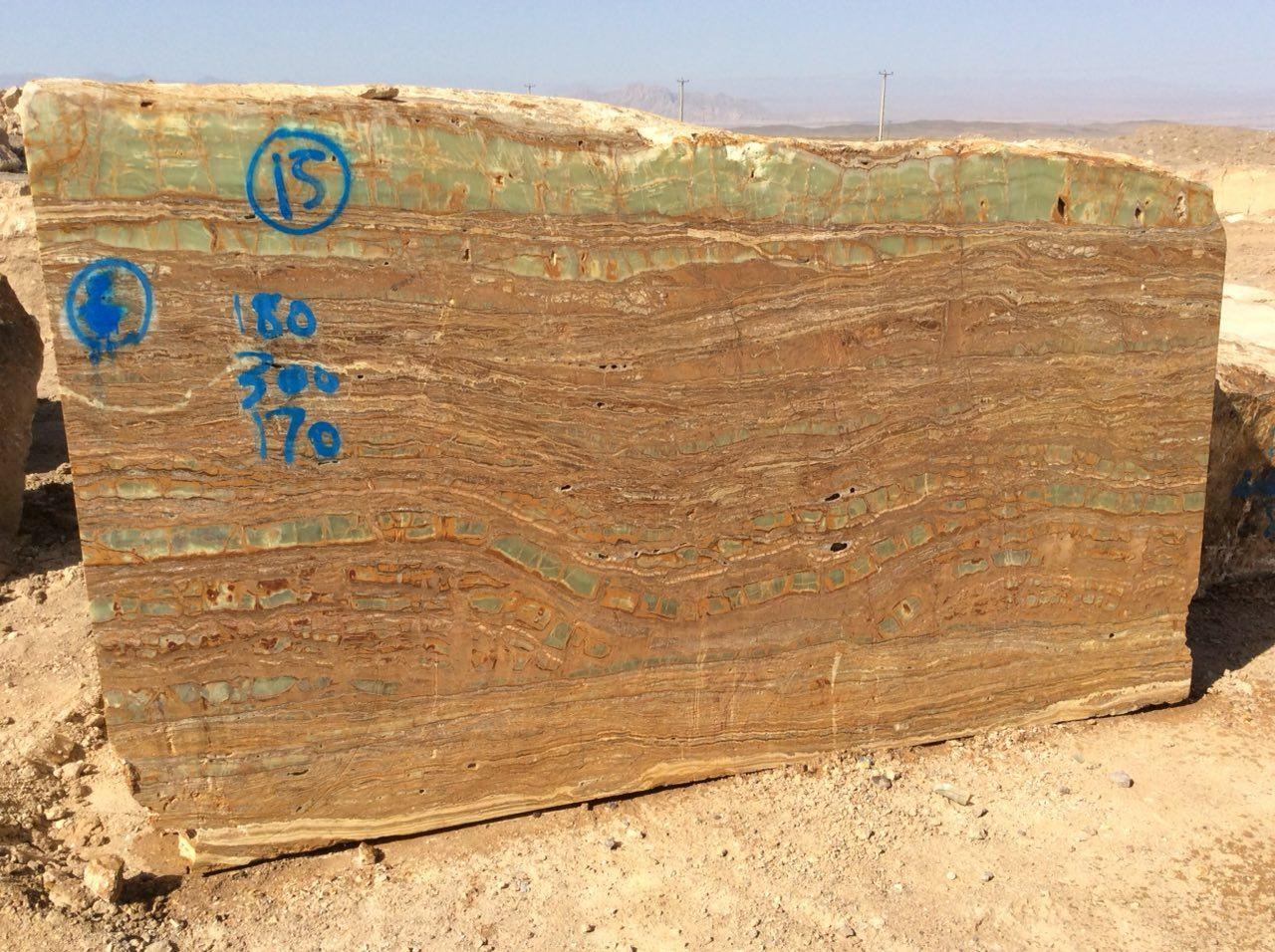 image number  5 products  Kerman green marble