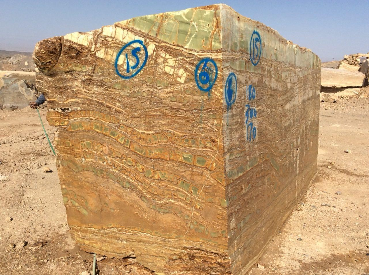 image number  4 products  Kerman green marble