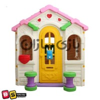 Iranian's  Baby play cottage design Barbie