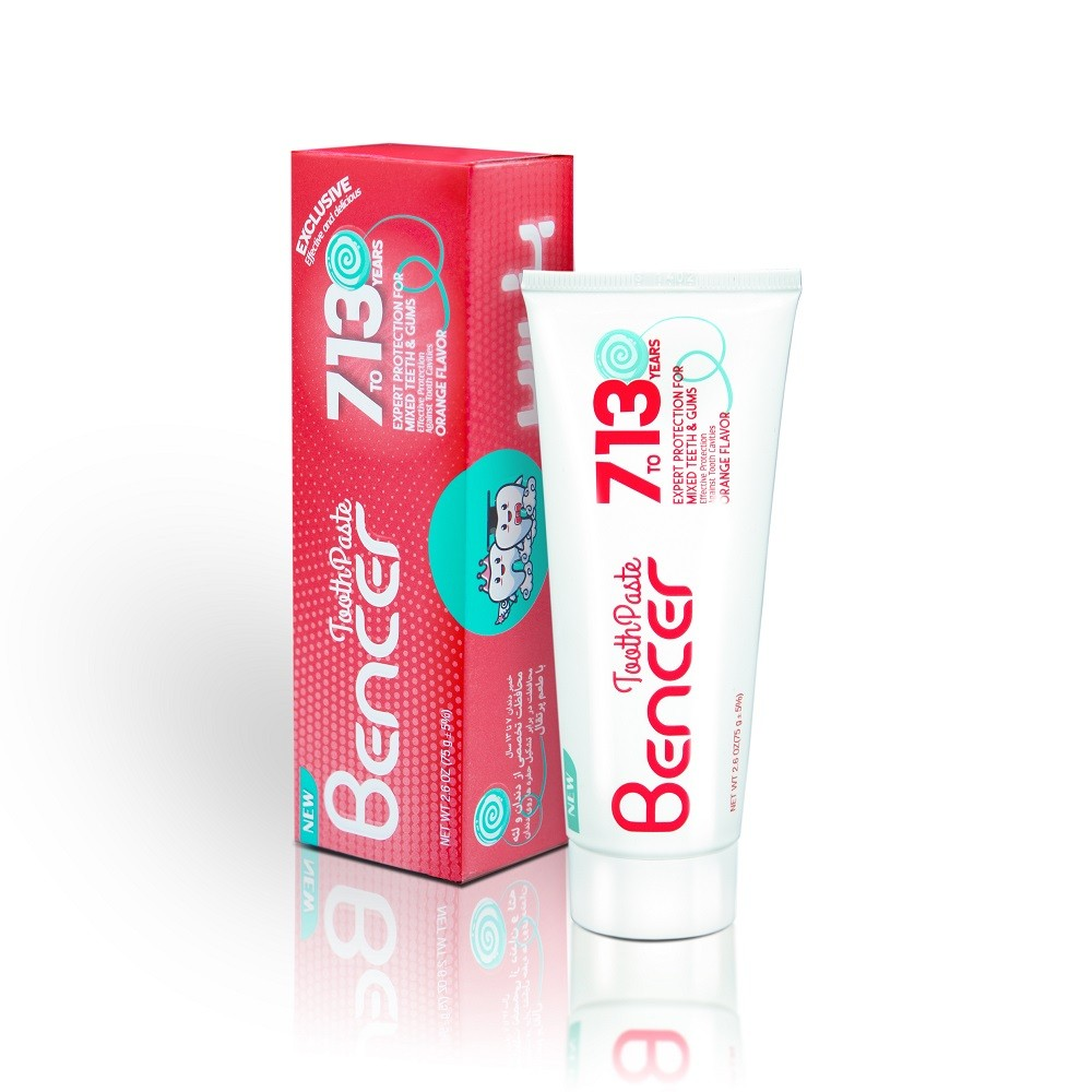 products  Banser toothpaste for children 7 to 13 years old