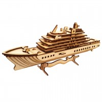 Iranian's  Bertario Wooden Cruise Boat 3D Puzzle