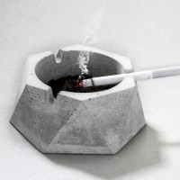 Iranian's Ashtray Concrete