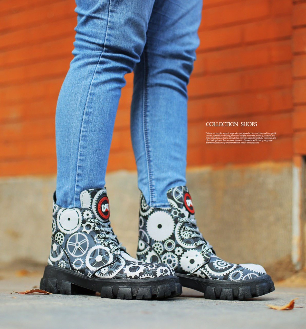 image number  5 products  Women's patterned ankle boots