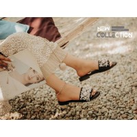 image number  1 products  Coarse pearl sandals