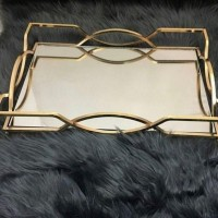 Iranian's Mirror tray for large bow design