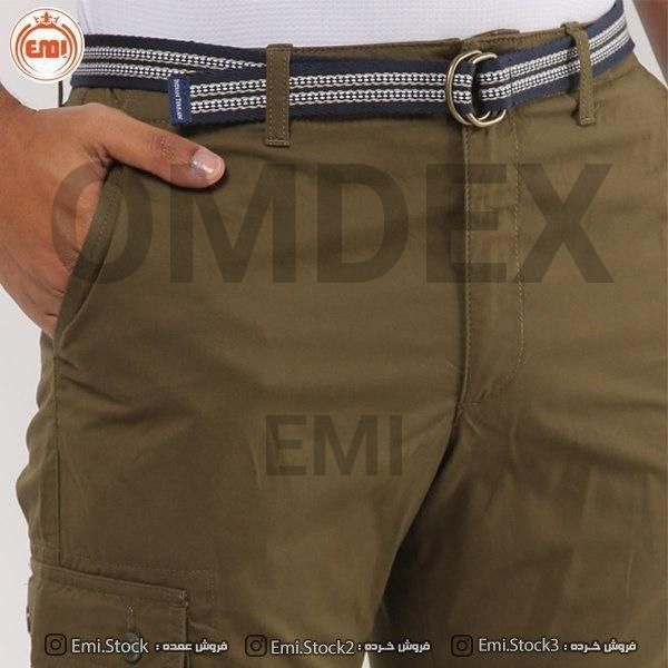 image number  2 products  Men's linen shorts, packed, brand (Liurge)