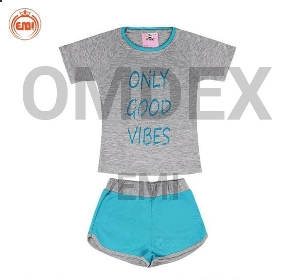 products  Children (girls) sports set in two packed models, brand