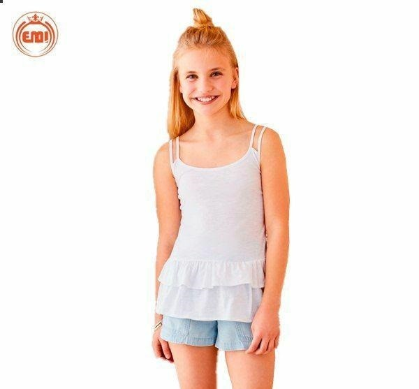 image number  2 products  Bulk white and pink baby tops