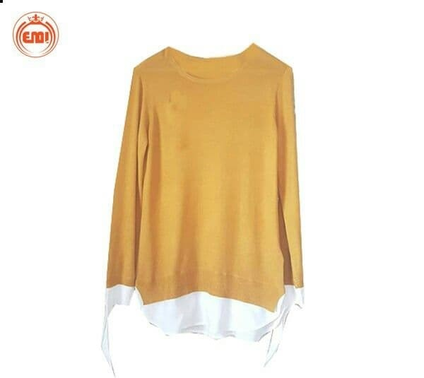 image number  4 products  Women's simple autumn blouse, brand (Asmara)