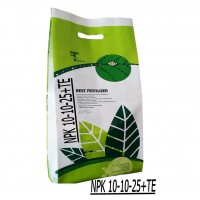 Iranian's  AYSA NPK fertilizer 10 10 25 Weight 10 kg