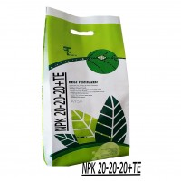 Iranian's  Complete fertilizer AYSA NPK 20 20 20 Weight 10 kg