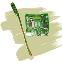 Iranian's Medical temperature and humidity sensor without a box
