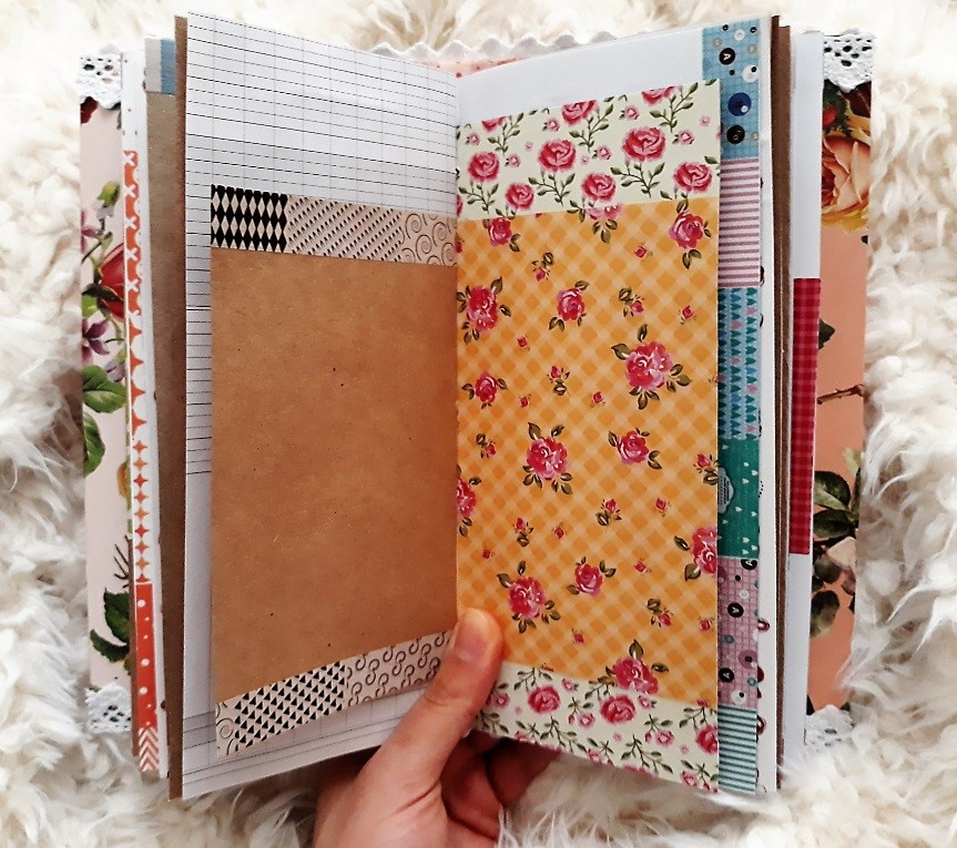 image number  9 products  Handmade notebook