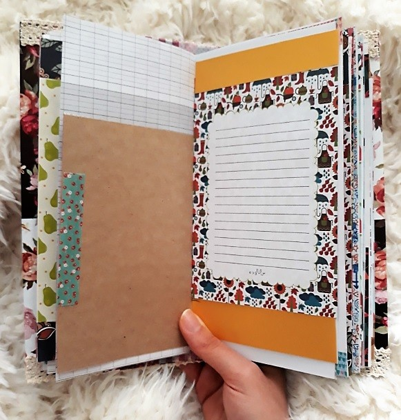 image number  8 products  Handmade notebook