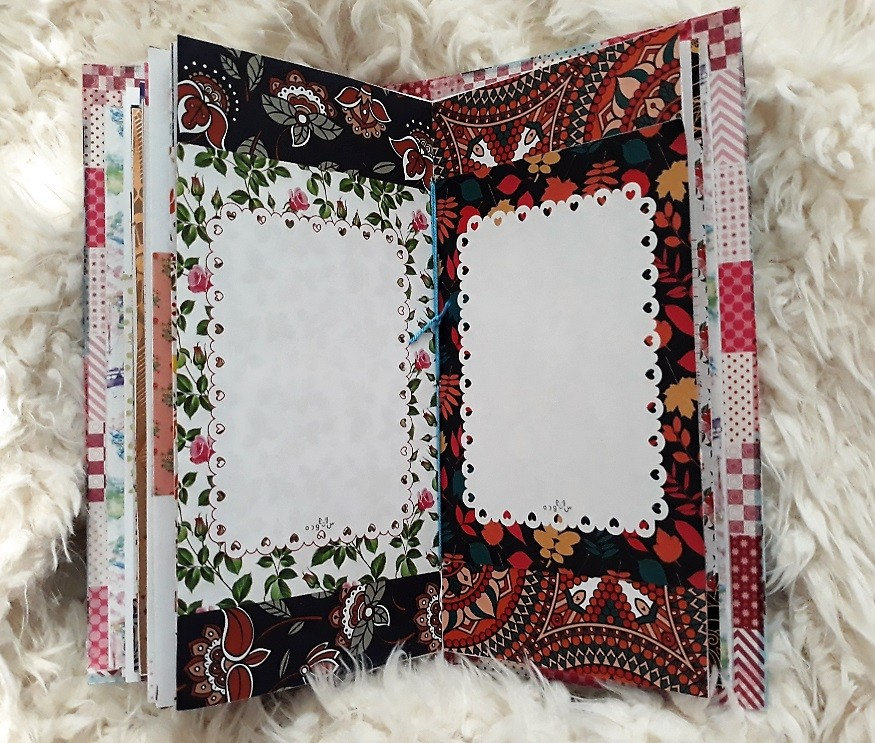 image number  7 products  Handmade notebook