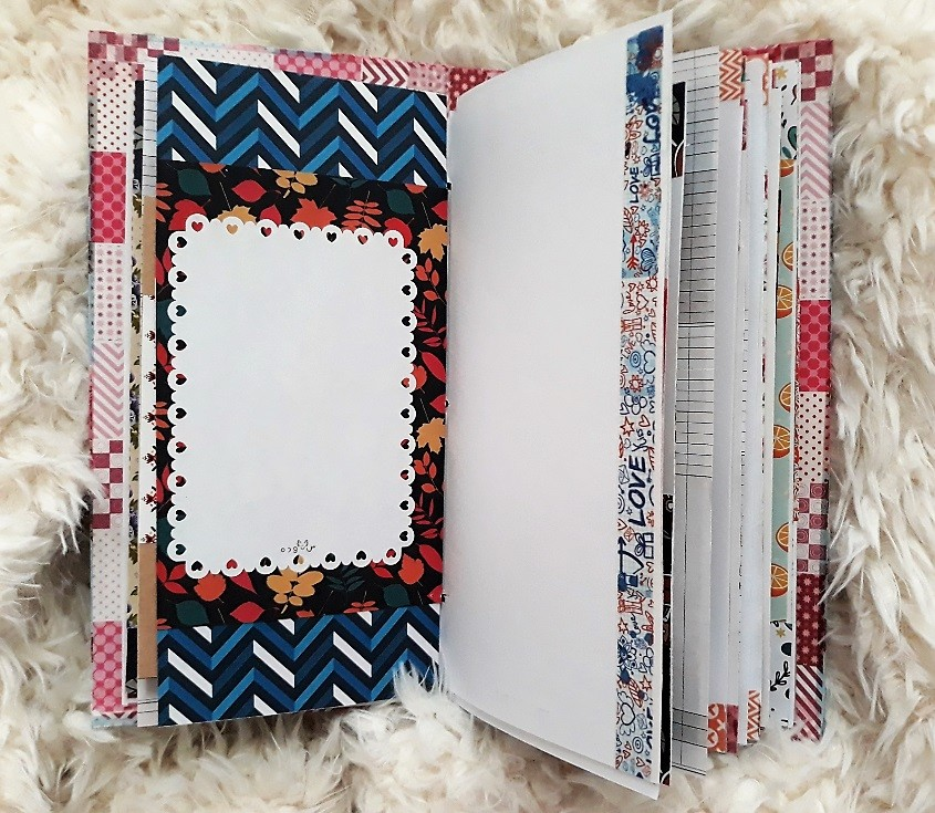 image number  6 products  Handmade notebook