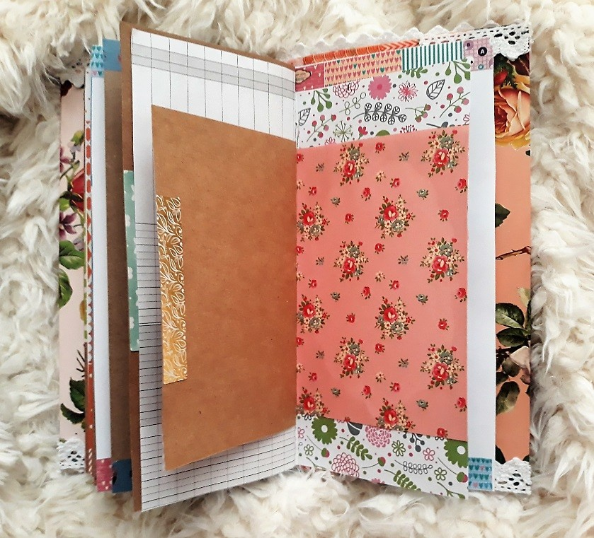 image number  5 products  Handmade notebook
