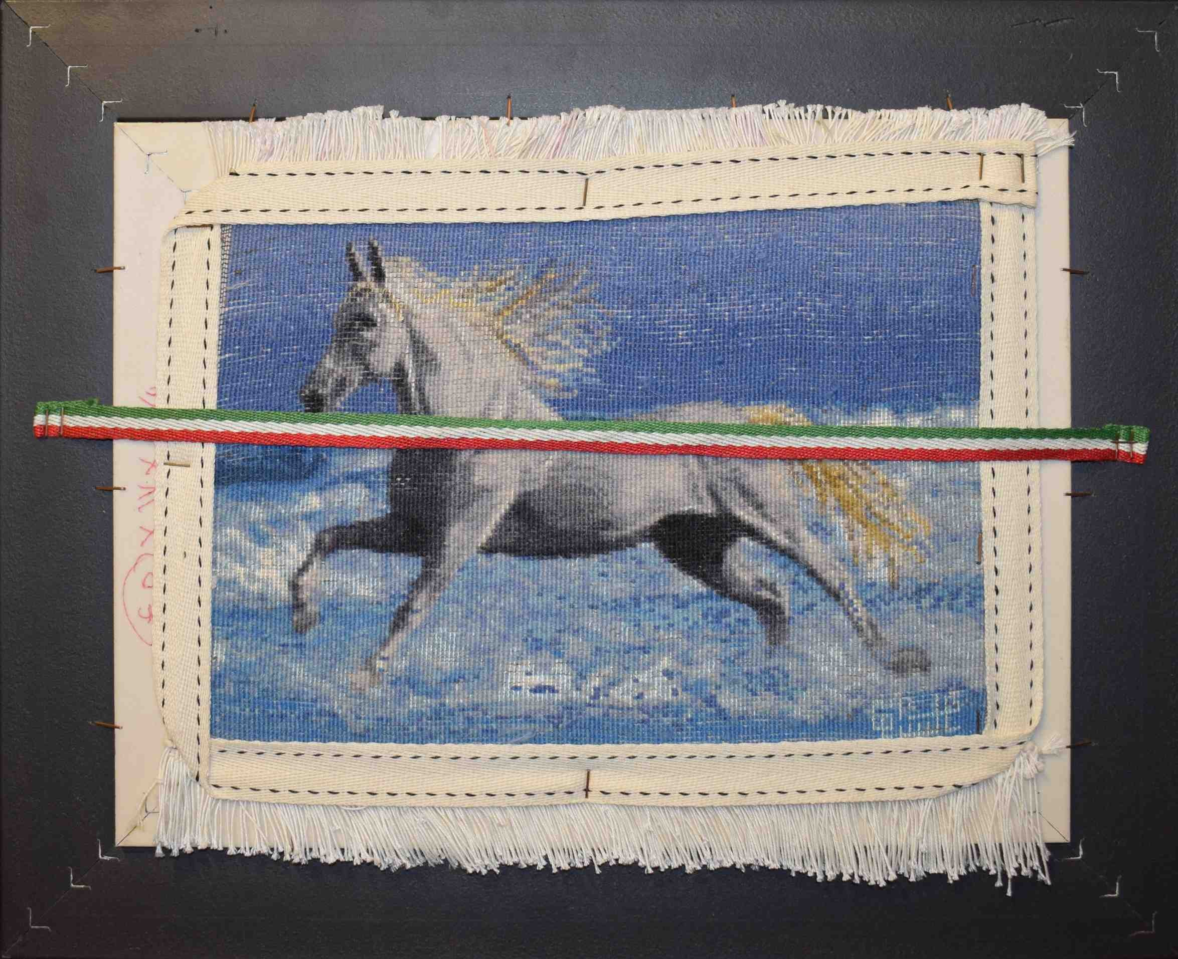 image number  1 products  Beach Horse Handmade Carpets