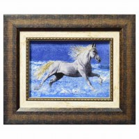 Wholesale buying Beach Horse Handmade Carpets Supplier:                                                                                                            AalaBafan