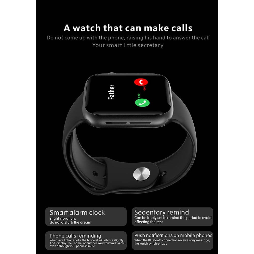 image number  4 products  Qs18 smart watch