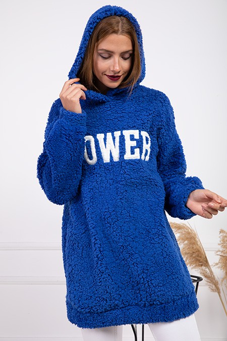 image number  6 products  Women's POWER PLUS blue sweater