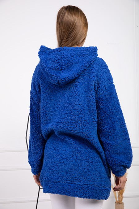image number  4 products  Women's POWER PLUS blue sweater