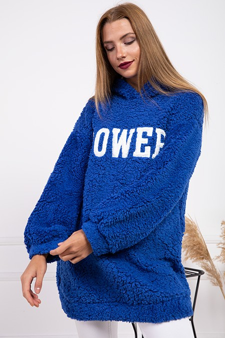 image number  5 products  Women's POWER PLUS blue sweater