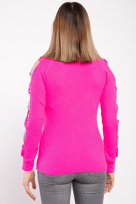 image number  6 products  Women's knitwear, pink, in 9 different colors