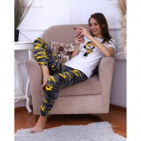 Wholesale buying Women's home comfort set, top and pants, mix Supplier:                                                                                                            Meditarrane
