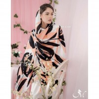 Wholesale buying Manganese cotton scarf 716M1 Supplier:                                                                                                            modelina