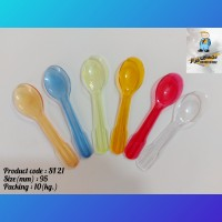 Iranian's  Modern spoon 2 (ice cream spoon)