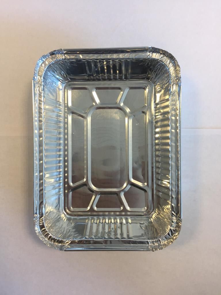products  Disposable aluminum container for double press code 114