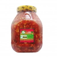 Wholesale buying Pickled tomato salad blend 2100g Supplier:                                                                                                            zalak torshiz