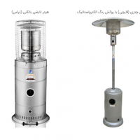 Iranian's  Umbrella Radiant Heaters