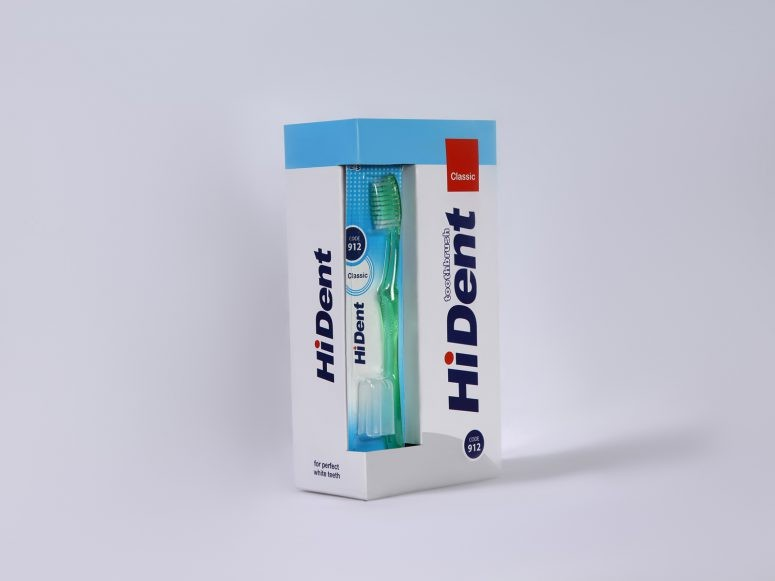 image number  3 products  Dent toothbrushes